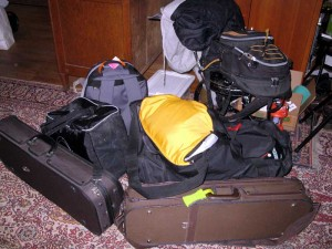 packed up and gone