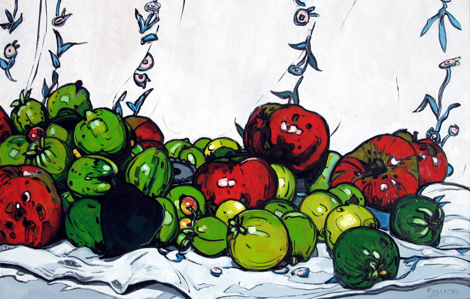 Quince with apples